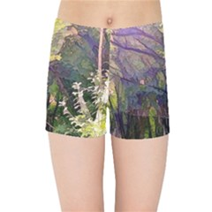 Into Woodlands Kids Sports Shorts