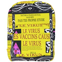 Ronald Story Vaccine Mrtacpans Full Print Backpack