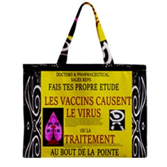Ronald Story Vaccine Mrtacpans Zipper Mini Tote Bag by MRTACPANS