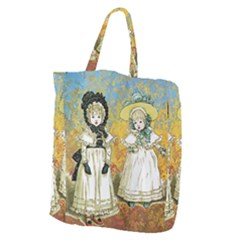 Little Victorian Girls Giant Grocery Tote