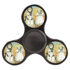 Little Victorian Girls Finger Spinner by snowwhitegirl