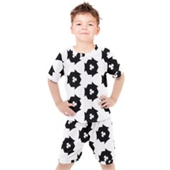 Black And White Pattern Kid s Set