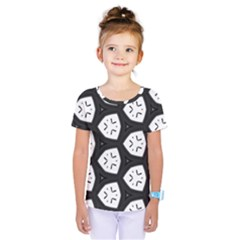 Black And White Kids  One Piece Tee
