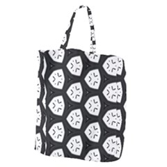 Black And White Giant Grocery Tote