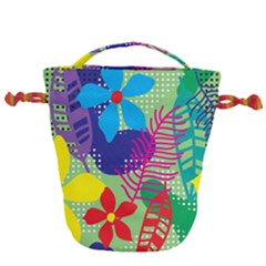 Decoration Decor Pattern Drawstring Bucket Bag