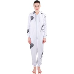 Microphone Realistic Karaoke Hooded Jumpsuit (ladies)