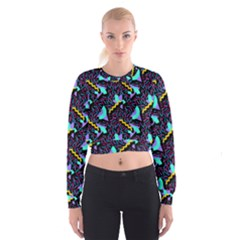 Memphis Style 1 Cropped Sweatshirt