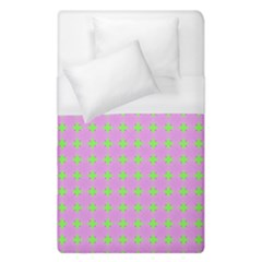 Pastel Mod Pink Green Circles Duvet Cover (single Size) by BrightVibesDesign