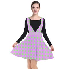 Pastel Mod Pink Green Circles Other Dresses