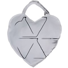 Engage Giant Heart Shaped Tote