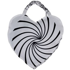Merge Giant Heart Shaped Tote