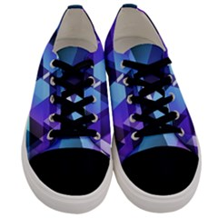 Triangles! Men s Low Top Canvas Sneakers