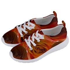 Orange Roses Women s Lightweight Sports Shoes by bloomingvinedesign