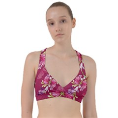 Motif Design Textile Design Sweetheart Sports Bra