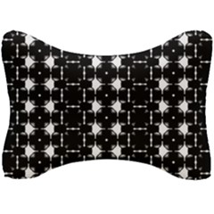 Black And White Pattern Seat Head Rest Cushion