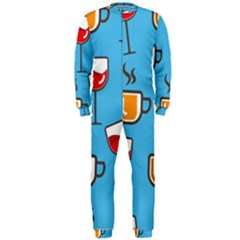Design Decoration Decor Pattern Onepiece Jumpsuit (men)  by Simbadda