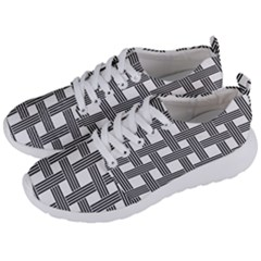 Seamless Stripe Pattern Lines Men s Lightweight Sports Shoes by Simbadda