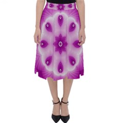 Pattern Abstract Background Art Classic Midi Skirt