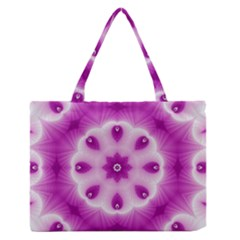 Pattern Abstract Background Art Zipper Medium Tote Bag