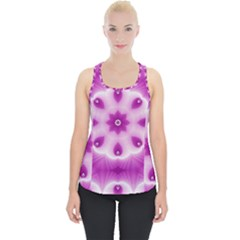 Pattern Abstract Background Art Piece Up Tank Top