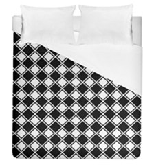 Square Diagonal Pattern Seamless Duvet Cover (queen Size)