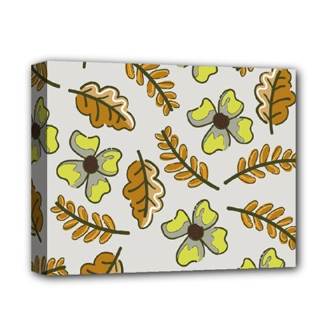 Design Decoration Decor Pattern Deluxe Canvas 14  X 11  (stretched) by Simbadda