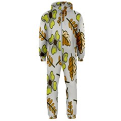 Design Decoration Decor Pattern Hooded Jumpsuit (men)  by Simbadda