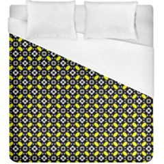Flower Pattern Pattern Texture Duvet Cover (king Size) by Simbadda