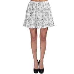 Atom Chemistry Science Physics Skater Skirt by Simbadda