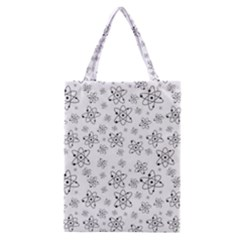Atom Chemistry Science Physics Classic Tote Bag