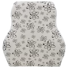 Atom Chemistry Science Physics Car Seat Velour Cushion  by Simbadda