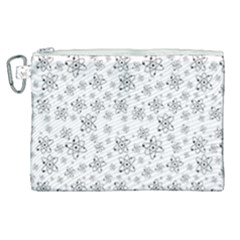 Atom Chemistry Science Physics Canvas Cosmetic Bag (xl)