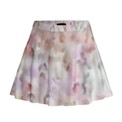 Watercolor Seamless Texture Mini Flare Skirt