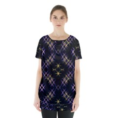 Seamless Background Abstract Vector Skirt Hem Sports Top