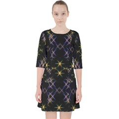 Seamless Background Abstract Vector Pocket Dress