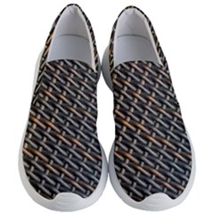 Rattan Wood Background Pattern Women s Lightweight Slip Ons