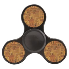 Roof Building Canvas Roofscape Finger Spinner by Simbadda