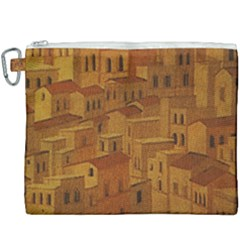 Roof Building Canvas Roofscape Canvas Cosmetic Bag (xxxl) by Simbadda