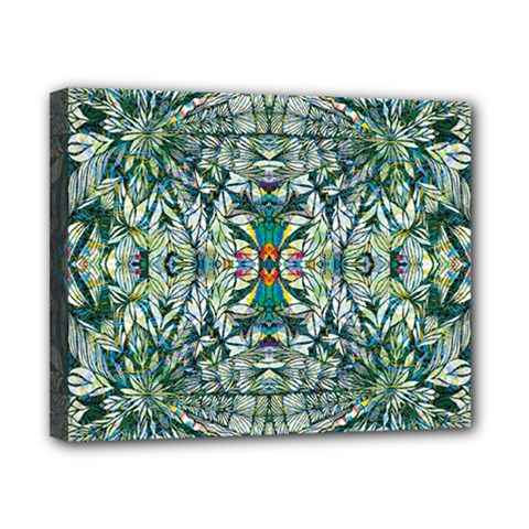 Pattern Design Pattern Geometry Canvas 10  X 8  (stretched)