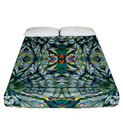 Pattern Design Pattern Geometry Fitted Sheet (queen Size)