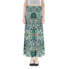 Pattern Design Pattern Geometry Full Length Maxi Skirt