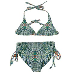 Pattern Design Pattern Geometry Kids  Classic Bikini Set