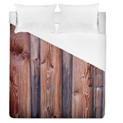 Wood Boards Wooden Wall Wall Boards Duvet Cover (queen Size)