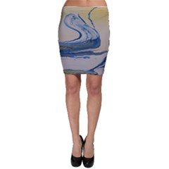 Sun And Water Bodycon Skirt