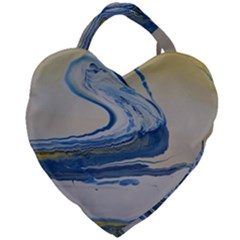 Sun And Water Giant Heart Shaped Tote