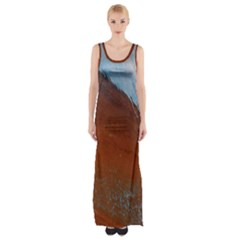 Acid Rain Maxi Thigh Split Dress