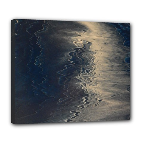 Midnight Deluxe Canvas 24  X 20  (stretched)