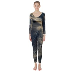 Midnight Long Sleeve Catsuit