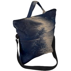 Midnight Fold Over Handle Tote Bag