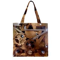 Hazy Time Zipper Grocery Tote Bag